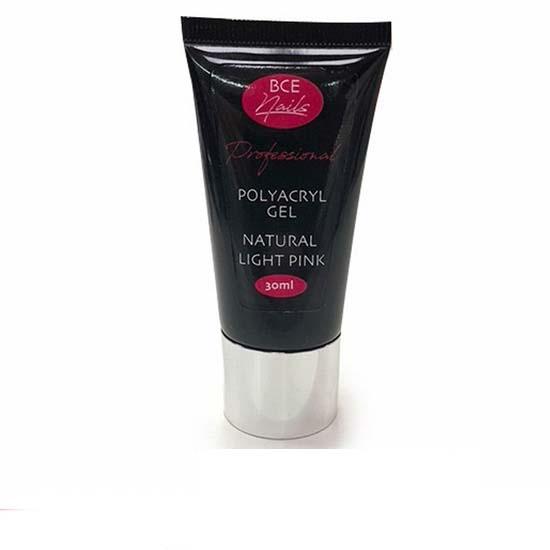 30 ml natural light pink BCE Polyacryl gel